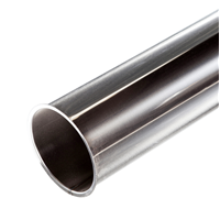 3.25 in x 3.5 in x 0.125 in Honed Tube - 316 Stainless Steel